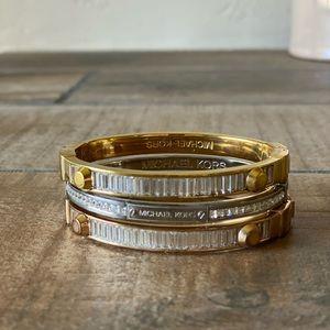 Michael Kors bracelet stack